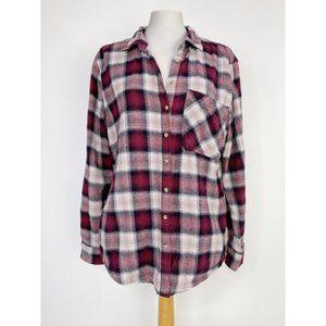 🛍3 for $25 🛍 Garage Button Down Plaid Shirt